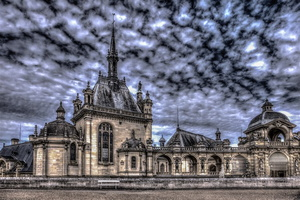 chateau-chantilly-oise-banc