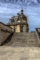 chateau-chantilly-oise-escalier