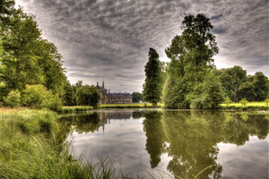 chateau-chantilly-oise-etang