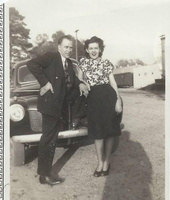 Mother and Father de Germaine Wearden, Nelda Barousse Thibodeaux and Ferdie Thibodeaux, circa March 1948
