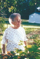 Great-aunt,jeanne Barousse Leger, Germaine Wearden; photo taken circa 1998