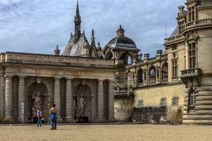 Oise - Chantilly - Château de Chantilly - Intrigue au château