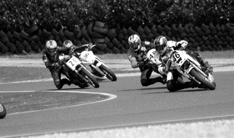 Val d'Oise - Circuit Carole - Course motos - Poursuite